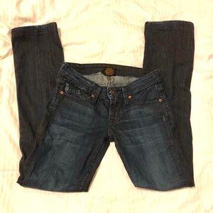 Genetic Denim straight leg jeans size 25
